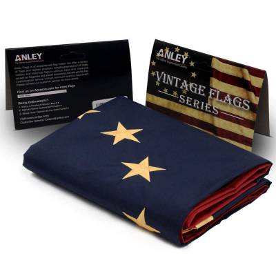 tea stained betsy ross flag