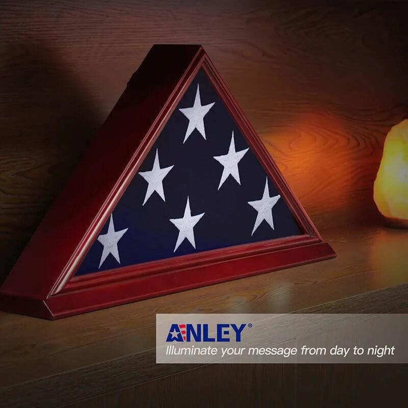 burial flag case