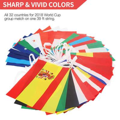 world cup flag string