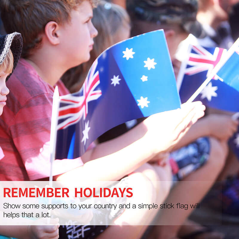 Aussie Stick Flag