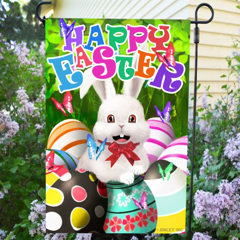 easter bunny flag