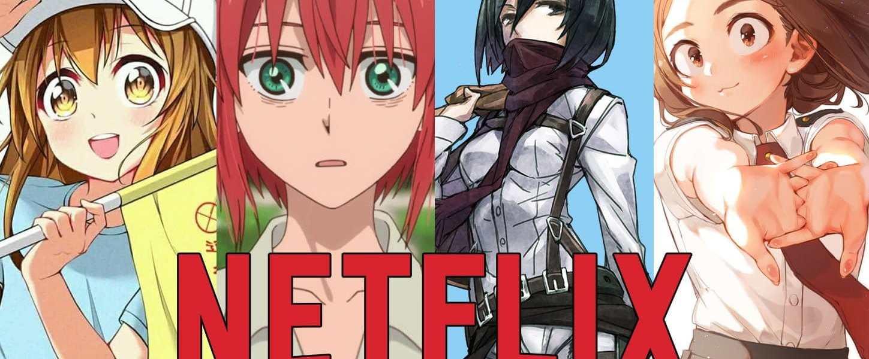 Netflix portada anime