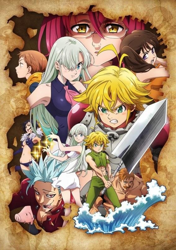 La tercer temporada de Nanatsu no Taizai