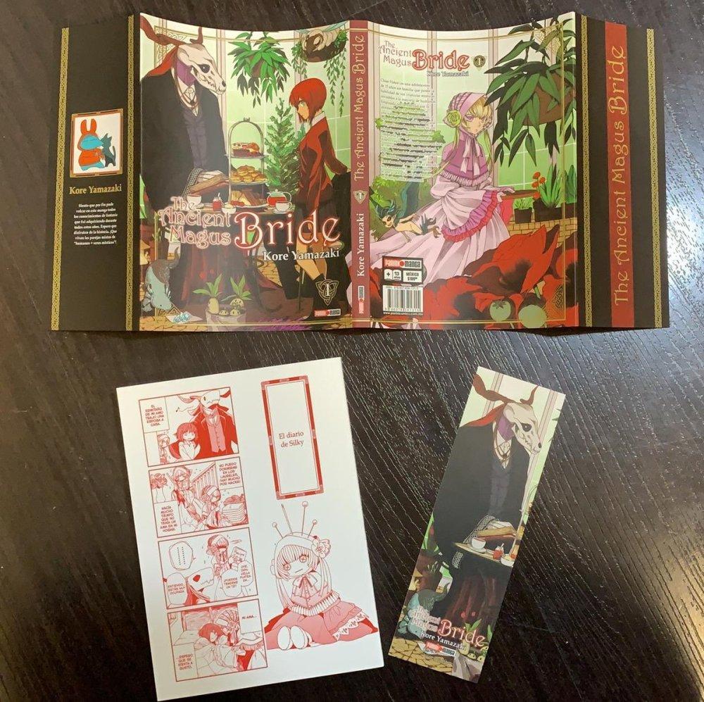 El manga Mahou Tsukai no Yome llega a México
