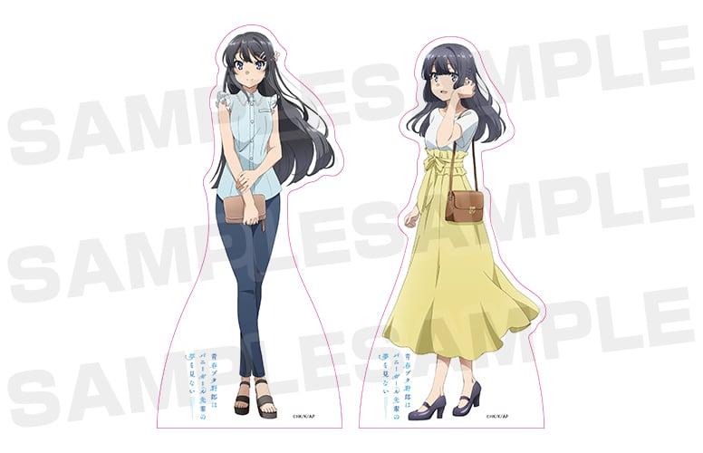 Las chicas de Seishun Buta Yarou estrenan mercancía exclusiva