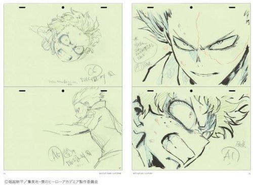 El diseñador de Boku No Hero Academia lanza un libro son escenas inéditas de animes