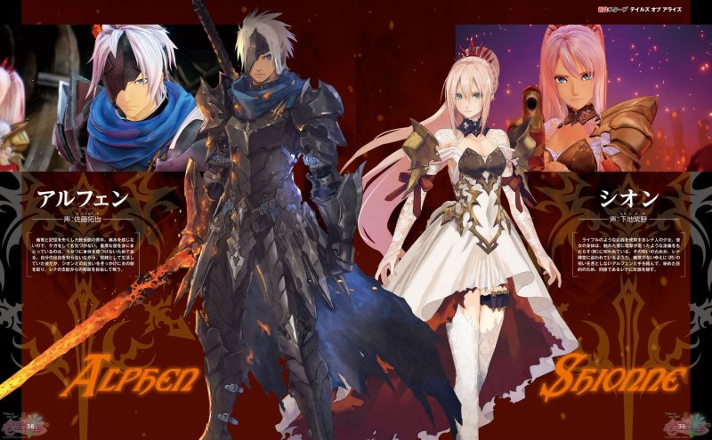 tales of arise personajes