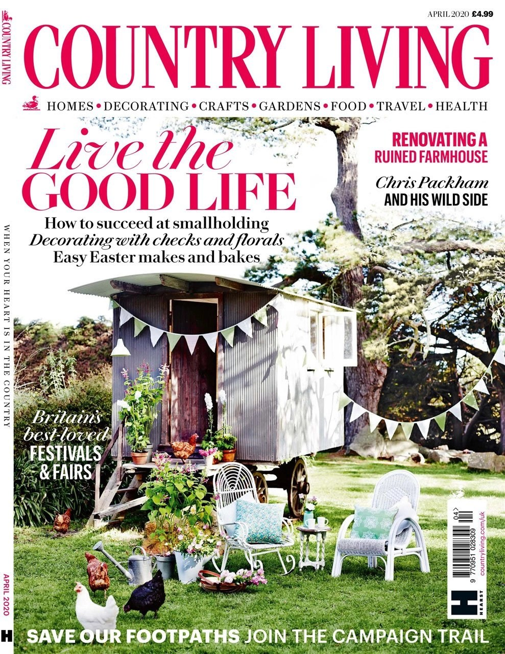 Land of Slope and Glory article featuring Ann-Marie Powell Garden design