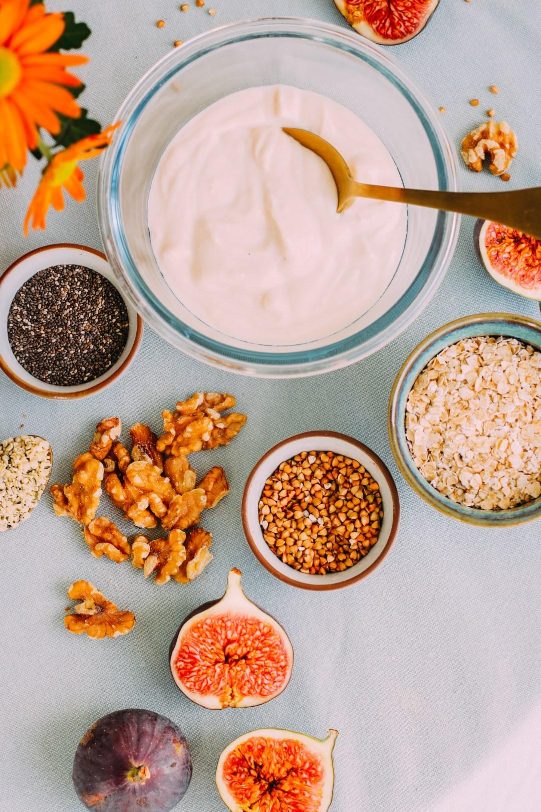 gesunde toppings für bowls