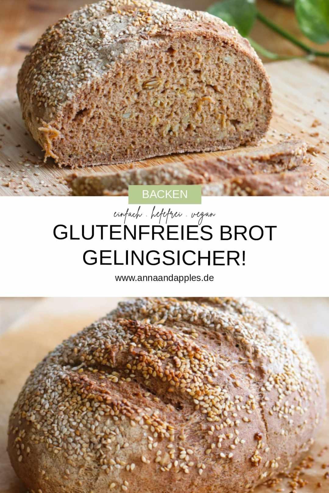 das beste glutenfreie Brotrezept