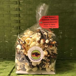 Sweet & Spicy Toffee Popcorn