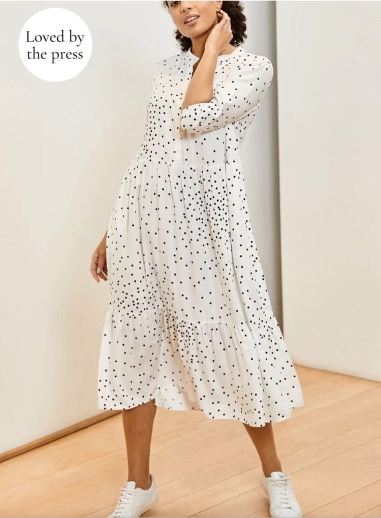 Sustainable Fashion: Baukjen Winslet dress
