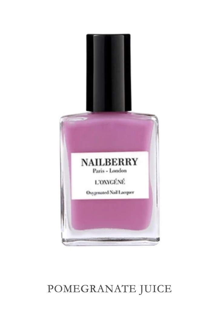 Nailberry Pomegranate Juice from post: Are you having a beauty feast or famine during the lockdown?