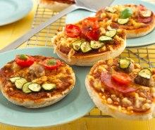 Mini Muffin Pizzas
