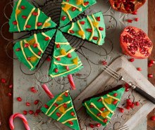 Christmas Tree Pop Cakes