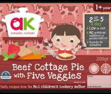 Beef Cottage Pie with Five Veggies