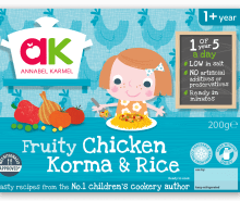 Fruity Chicken Korma & Rice