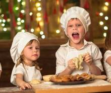 Top tips for cooking with children this Christmas