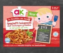 Spaghetti bolognese met verborgen groenten