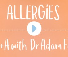 Allergies Q&A with Dr Adam Fox