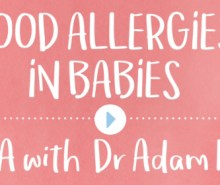 Food Allergies in Babies Q&A with Dr Adam Fox