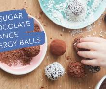 No-Sugar Chocolate Orange Energy Balls