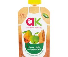 Organic Mango, Apple & Coconut Milk Puree