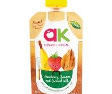 Organic Strawberry, Banana & Coconut Milk Puree