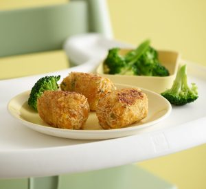 Chicken Croquettes with Sweet Potato and Diced Chicken Recipe