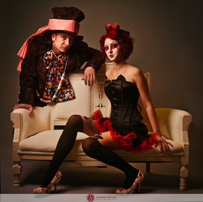 Alice in Wonderland inspired shoot