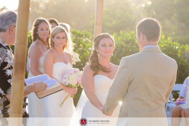 Beautiful light at the ceremony