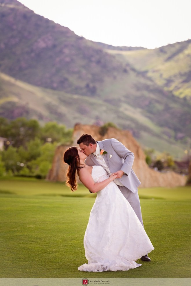 A gorgeous golf course wedding