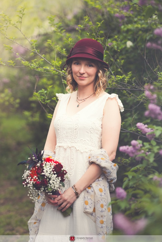 A hat wedding in Colorado's foothills
