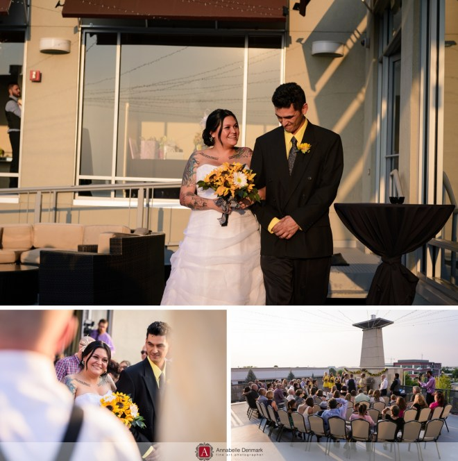 An urban Colorado Wedding