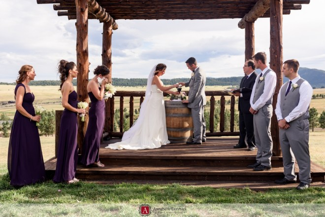 A ranch Wedding in Colorado's Foothills