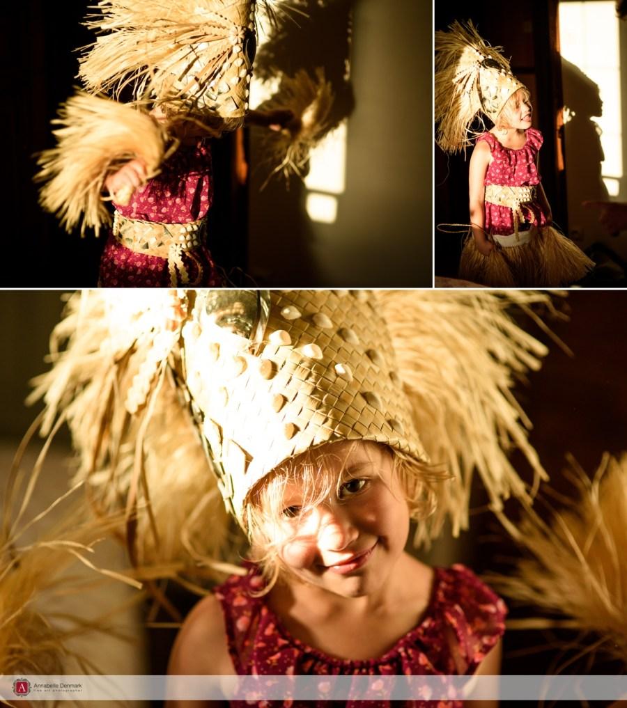 Sarah en Tahitienne