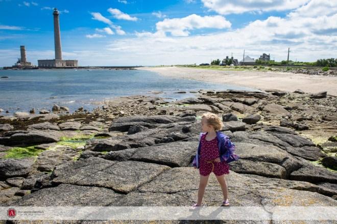 Sarah by the Lighthouse