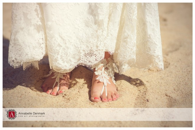 Bridal barefoot shoes