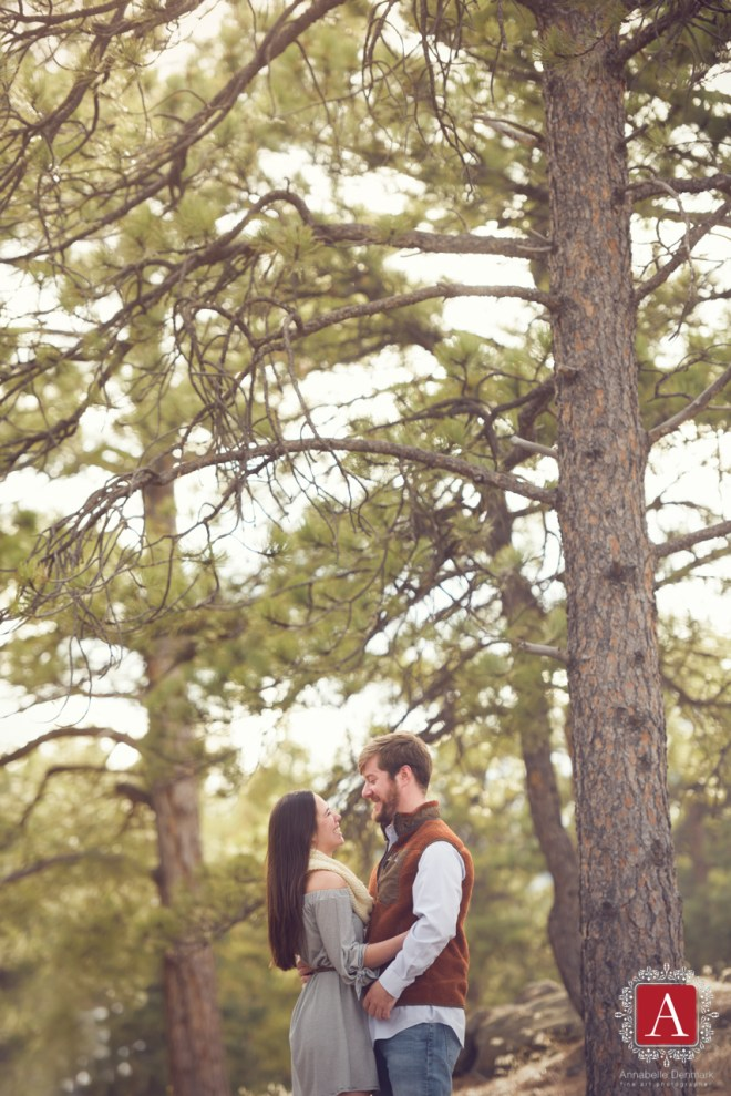 Mountain Engagement photos, Lost Gulch, Boulder