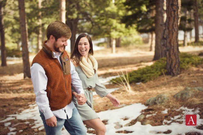 Mountain Engagement photos, Lost Gulch, Boulder