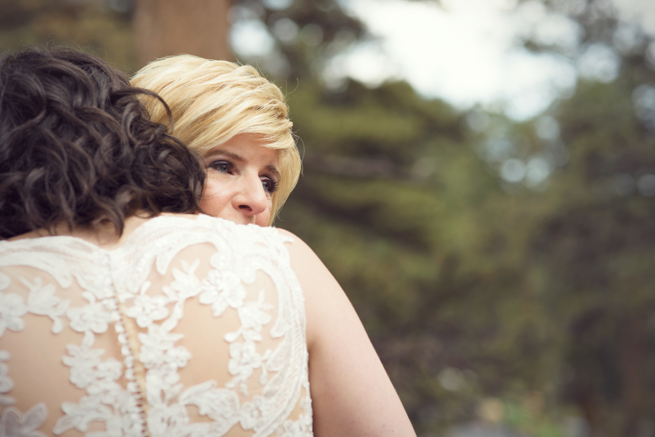 lauren & katie - della terra mountain wedding in estes park, colorado