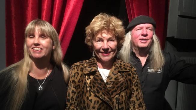 Bild på Anna, Amelia Adamo och Ulf