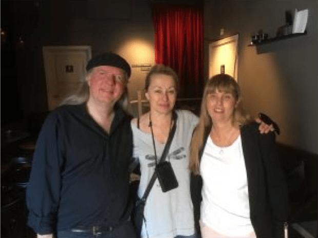 Bild på Ulf, Louise Hoffsten och Anna