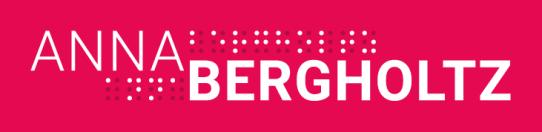 Logotyp Anna Bergholtz