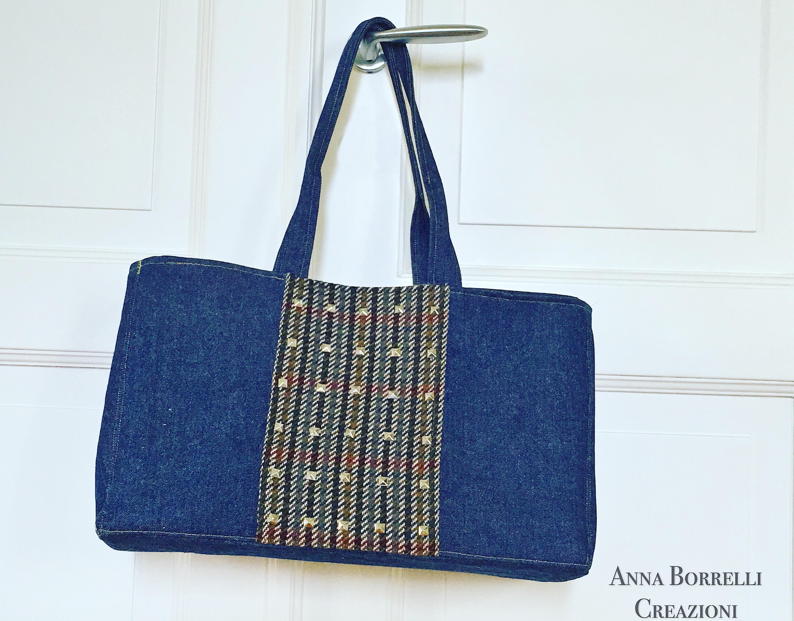 Top Come realizzare la borsa shopper - Anna Borrelli GH65