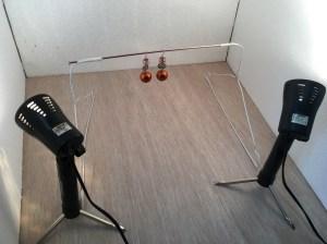 fotografare oggetti sospesi