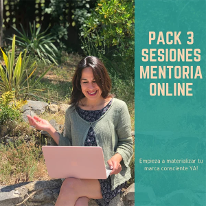 Pack 3 sesiones, Mentoria Online con Ann Cano