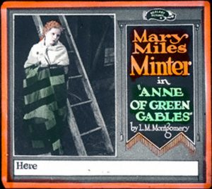 lantern Anne of Green Gables 1919