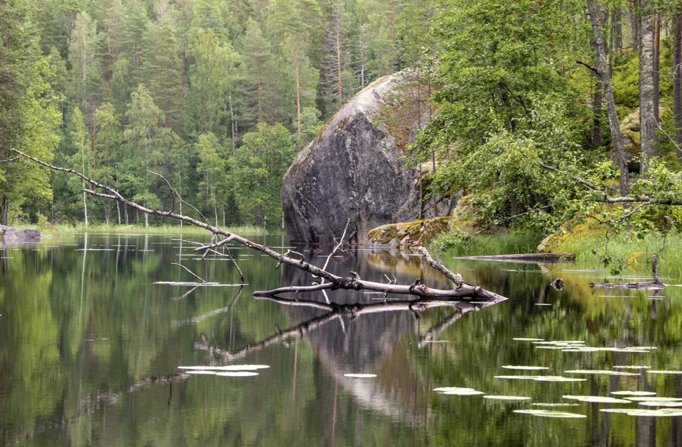 Kanu in Finnland