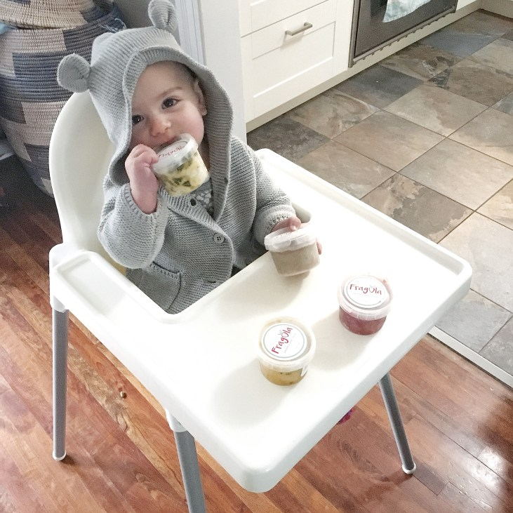 baby with fragola organic baby food delivery